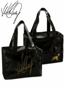 Whitney Houston Black Hand Bag