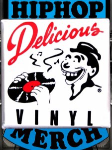 Delicious Vinyl Can Badge