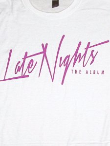 "JEREMIH ""LATE NIGHTS"" Official T-Shirt"