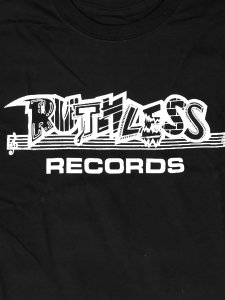 """RUTHLESS RECORDS, N.W.A. """"RUTHLESS Classic Logo"""" T-Shirt"""