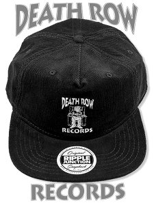 Death Row Records Classic Logo Official Corduroy Hat