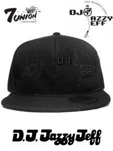 【DEAD STOCK】DJ JAZZY JEFF x 7union Fitted B/B Cap