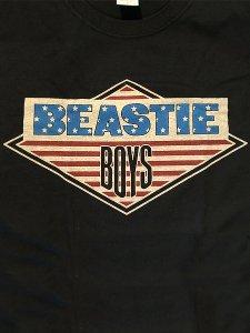 "Beastie Boys ""Star & Stripes Diamond Logo"" Official T-Shirt"