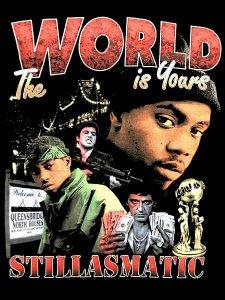 "Stillas x essense ""The World Is Yours"" T-Shirt"