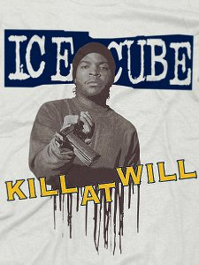 "Ice Cube ""Kill At Will"" T-Shirt"