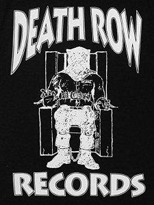 Death Row Records Classic Logo Official T-Shirt