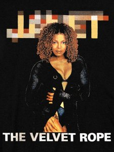 "JANET JACKSON ""THE VELVET ROPE"" T-Shirt"