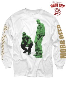 "Mobb Deep ""Never Shook"" LS T-Shirt"