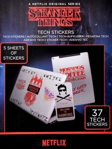 Netflix Stranger Things Official Tech Sticker (37種類入り)