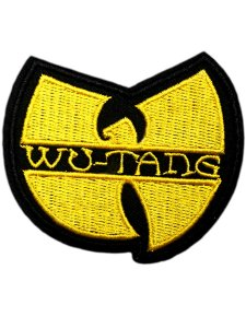 Wu-Tang Clan Classic Logo Patch Yellow