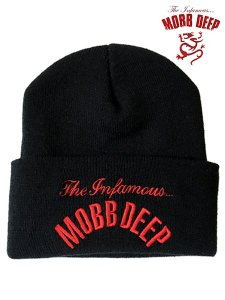 "Mobb Deep ""Infamous"" Classic Logo Official Beanie"