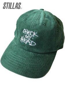 """Stillas """"CHECK MY HEAD"""" Corduroy Strap Back Cap"""