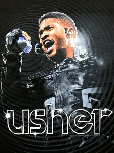 "【DEAD STOCK】Usher ""Power 2011 Tour"" T-Shirt"