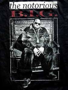 "The Notorious B.I.G. ""Throne"" T-Shirt"