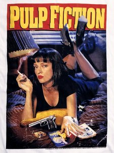 "Pulp Fiction ""MIA Poster"" Official T-Shirt"
