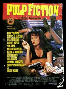 "Pulp Fiction ""Vintage Poster"" Official T-Shirt"