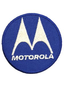 Motorola Logo Circle Patch