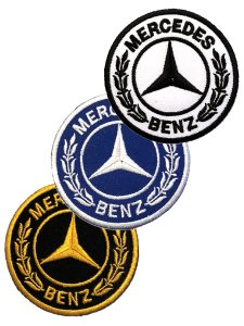 Mercedes Benz Circle Patch