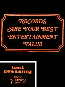 "Stillas x Test Pressing ""Best Entertainment"" T-Shirt"