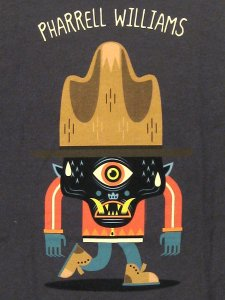 "Pharrell Williams ""HAT CYCLOPS"" T-Shirt"