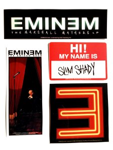 Eminem Stickers Pack (4種)