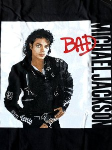 "Michael Jackson ""BAD"" Official T-Shirt"