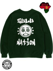 "Zulu Nation ""Zulu Face"" Crew Sweat Shirt"