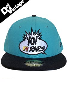 【Def Vintage】 Yo! Mtv Raps x New Era 59Fifty Cap