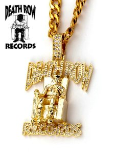 Death Row Records Classic Logo Necklace