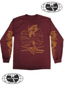 """WU-TANG CLAN """"CROSSED SWORDS"""" LS T-Shirt"""