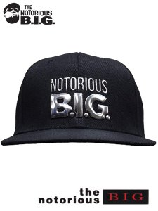 The Notorious B.I.G. Logo Official Snapback Cap