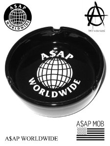 A$AP World Wide Official Logo Grass Ashtray