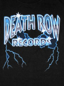 Death Row Records Lightning Logo Official T-Shirt