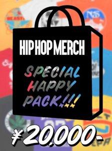 HIP HOP MERCHANDISE Special HAPPY PACK 20000