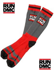 Run DMC Official LOGO Socks