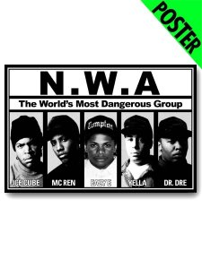 The Most Dangerous Group N.W.A. Poster