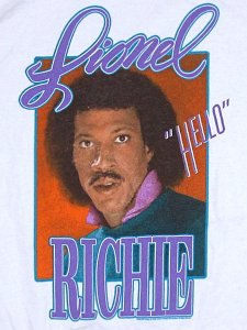 "Lionel Richie ""Hello Framed"" Official T-Shirt"