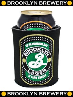 """BB"" Official Brooklyn Lager Can Koozie"