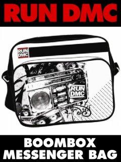 """RUN DMC """"Boombox"""" Messenger Bag"""
