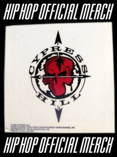 Cypress Hill Skull Window Cling