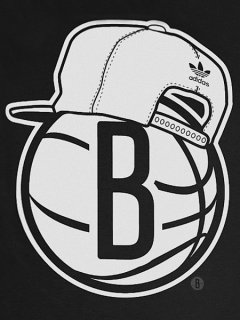 adidas Brooklyn Nets Snapback T-Shirt