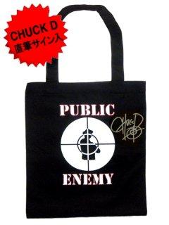 """Public Enemy Exclusive""""Chuck D - AUTOGRAPHED"""" Tote Bag"""