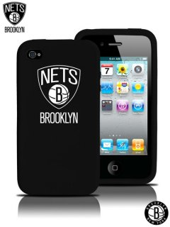 Brooklyn Nets iphone4S Silicone Case