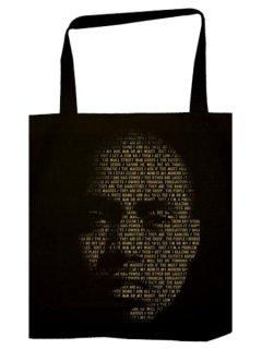 """Nas & Damian Marley """"Lyrical Face"""" Tote Bag"""