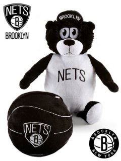 NBA Brooklyn Nets Reverse-A-Pal Teddy Bear