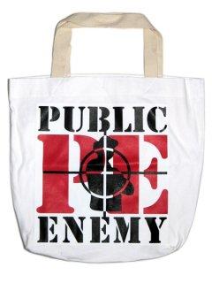 """PUBLIC ENEMY """"BIG"""" Tote Bag"""