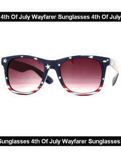 4th Of July Wayfarer Sunglasses