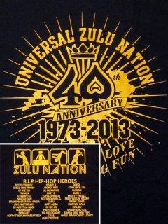 "Zulu Nation ""40th Anniversary Tribute"" T-Shirt"