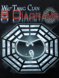 Wu Tang 8 Diagrams Tour Foil Tee