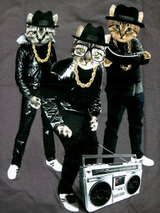 "RUN-DMC ""B-BOY CATS"" T-Shirt"